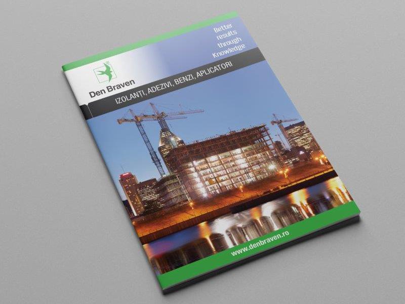brosura DenBraven – design, productie