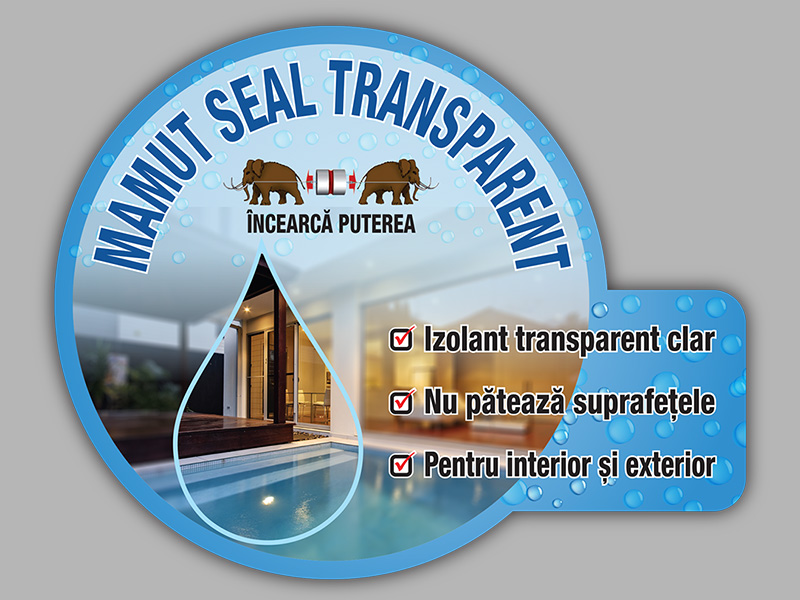Wobbler Mamut Seal Transparent