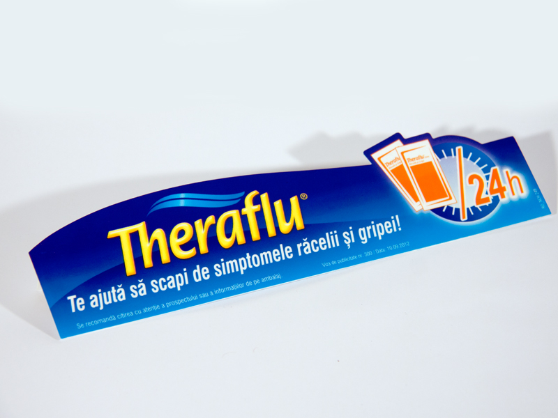 Shelf talker Theraflu